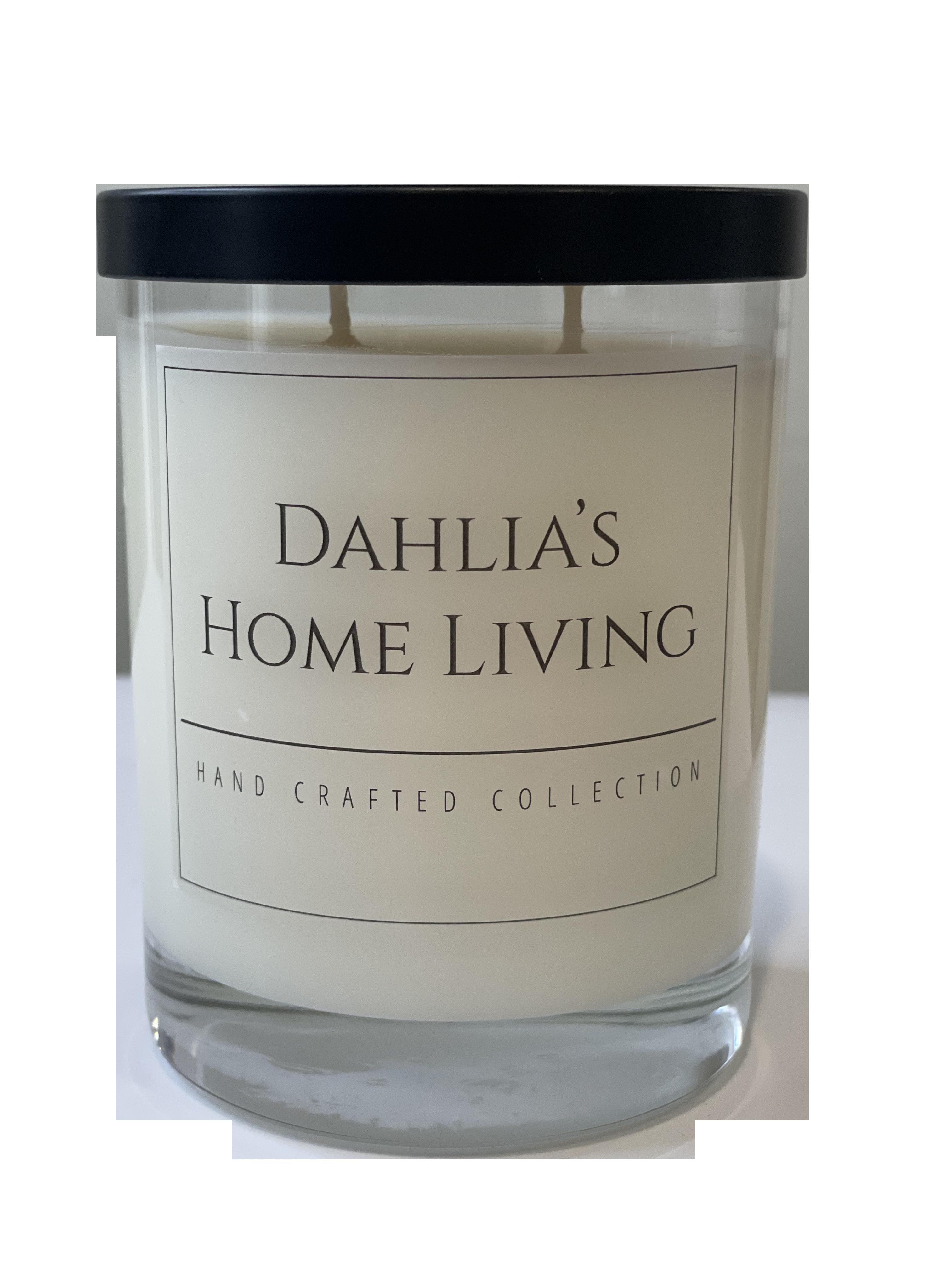 dahlias home living - signature candle